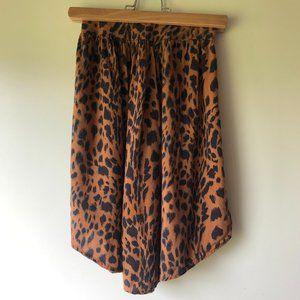 Nico Nico Eco Girls Leopard Print Flowy Skirt